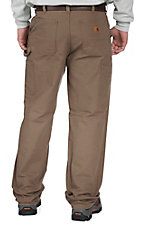 Carhartt Men's Canyon Brown Washed Duck Work Dungaree