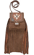 Bandana by American West Winslow Collection Taupe Crossbody Bag
