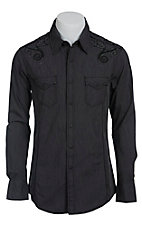 Rock & Roll Cowboy Men's L/S Western Snap Shirt B2S1352