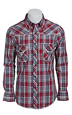 Rock & Roll Cowboy Men's L/S Western Snap Shirt B2S1354