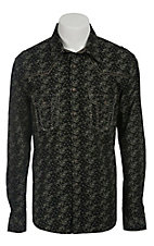 Rock & Roll Cowboy Men's L/S Western Snap Shirt B2S2121