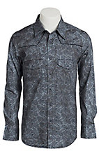 Rock & Roll Cowboy Men's L/S Western Snap Shirt B2S2123