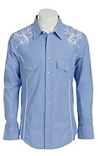 Rock & Roll Cowboy Men's L/S Western Snap Shirt B2S2526