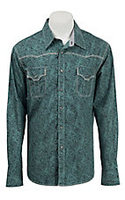 Rock & Roll Cowboy Men's L/S Western Snap Shirt B2S3005