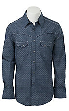 Rock & Roll Cowboy Men's L/S Western Snap Shirt B2S3014