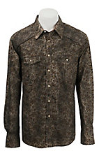Rock & Roll Cowboy Men's L/S Western Snap Shirt B2S3022