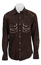 Rock & Roll Cowboy Men's L/S Western Snap Shirt B2S4425