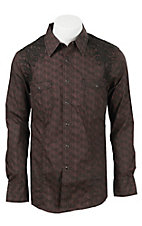 Rock & Roll Cowboy Men's L/S Heavy Stitch Shirt