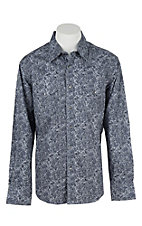 Rock & Roll Cowboy Men's L/S Western Snap Shirt B2S8422