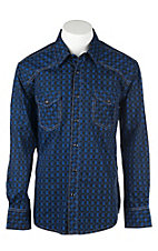 Rock & Roll Cowboy Men's L/S Western Snap Shirt B2S8423