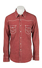 Rock & Roll Cowboy Men's L/S Western Snap Shirt B2S8428