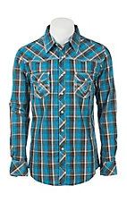 Rock & Roll Cowboy Men's L/S Western Snap Shirt B2S9056
