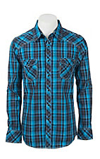 Rock & Roll Cowboy Men's L/S Western Snap Shirt B2S9057