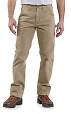 Carhartt Men's Khaki Twill Dungaree Pants