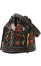 Bandana by American West Black Canyon Collection Drawstring Bucket Bag