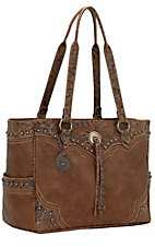 Bandana by American West Breckenridge Collection Tan Carry on Tote