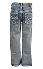 Rock & Roll Cowboy Boy's Light Vintage Regular Fit Boot Cut