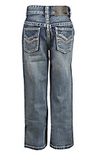 Rock & Roll Cowboy Boy's Dark Vintage Regular Fit Boot Cut