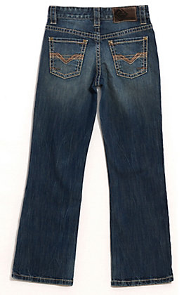 Rock & Roll Cowboy Boys' BB Gun Regular Fit Boot Cut Jeans