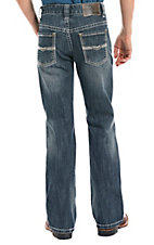 Rock & Roll Denim Boys Gun Vintage Khaki Stitch Boot Cut Jeans
