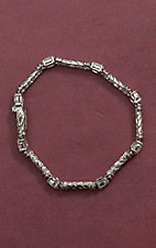 Montana Silversmiths Star Lights Treasure Hunt Rope Column Link Bracelet