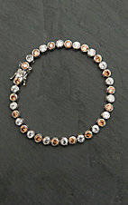Montana Silver Smith River Lights Sandy Pebbles Bracelet