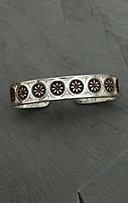 Montana Silver Smith Prairie Two Tone Meadowbrite Cuff Bracelet