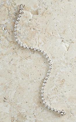 Montana Silversmiths Star Lights and Chevron Link Bracelet