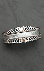 Montana Silver Smith Two Tone Bright Hearts Cuff Bracelet