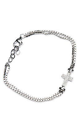 Montana Silversmiths In the Middle of Faith Bracelet