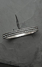 Montana Silver Smith A Stroll at Midnight Hinge Bracelet