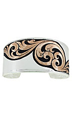Montana Silversmiths Over the Horizon Rose Gold Cuff Bracelet