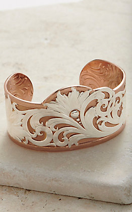 Montana Silversmiths Wildflower Cuff Bracelet