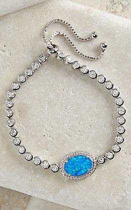 Montana Silversmiths River Lights Opal Lariat Bracelet