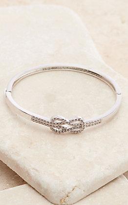 Montana Silversmiths Forever & Always Knot Bangle Bracelet