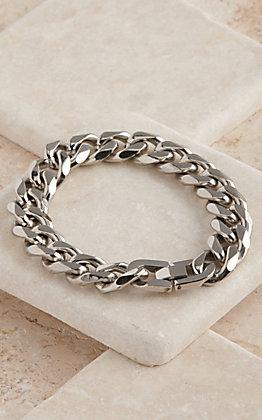 Montana Silversmiths Cuban Link Chain Bracelet