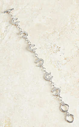 Montana Silversmiths Horseshoe Chain Bracelet