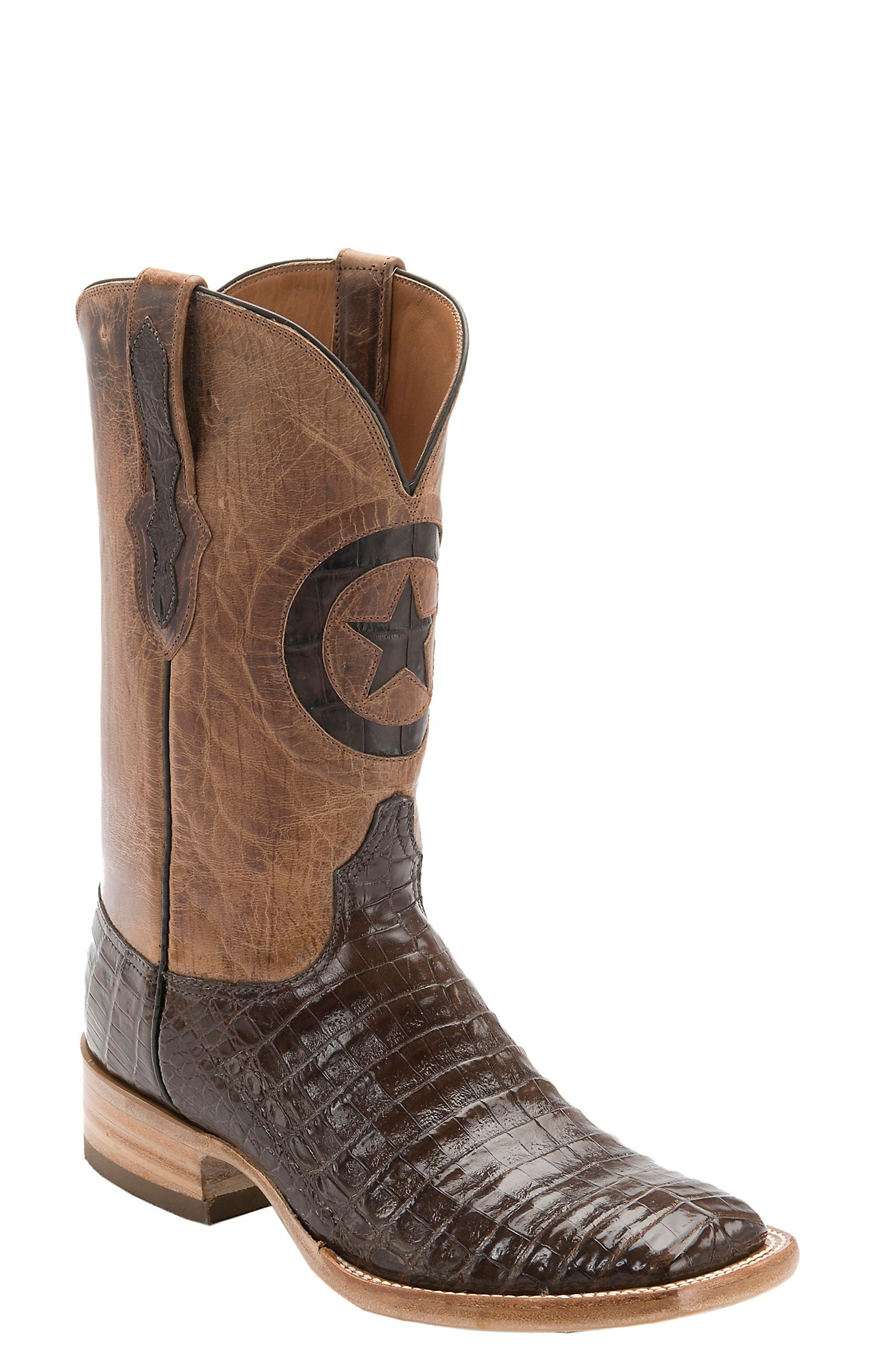 Gator Skin Boots Square Toe Square Toe Western Boots