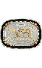 Montana Silversmiths On Bended Knee Prayer Rectangluar Buckle