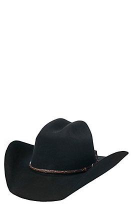 Cavender's Cowboy Collection 3X Black Premium Wool Cowboy Hat