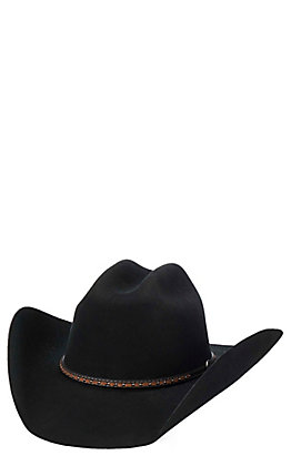 Cavender's Cowboy Collection 3X Black Wool Cowboy Hat