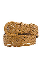 Angie Tan Woven Belt BL070