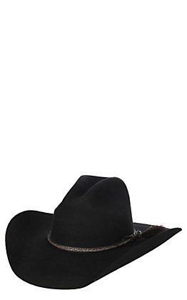 Cavender's Cowboy Collection 3X Black Duke Premium Wool Cowboy Hat