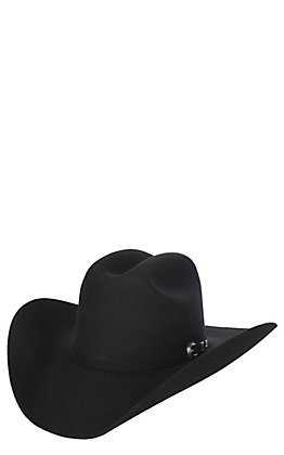 Cavender's Cowboy Collection 3X Black Premium Wool Cowboy Hat