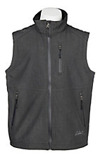 Rafter C Men's Heather Black Softshell Vest