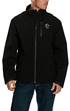 Rafter C Men's Black Bonded w/ Raised Logo Jacket
