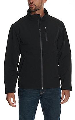 Rafter C Men's Black Softshell Jacket