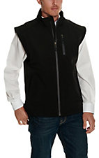 Rafter C Men's Black Softshell Vest
