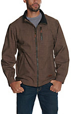 Rafter C Men's Heather Brown Bonded Jacket
