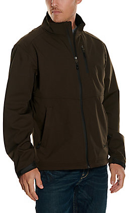 Rafter C Men's Brown Softshell Jacket